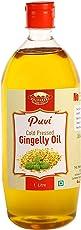 Puvi Cold Pressed Gingelly / Sesame Oil (Virgin, Chekku / Ghani) - 1 Litre