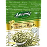 Happilo Premium Pumpkin Seeds - Raw, Authentic, All Natural Pouch, 200 g