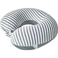 Story@Home U-Shaped Neck Pillow for Car, Train, Flight, Bus/Travel Pillow Memory Foam/Travel Pillow Neck Rest/Travel Pillow Soft/Travel Pillow Inflatable/Travel Neck Cushion - Grey