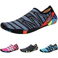 PADGENE Chaussons Plongée Aquatiques Chaussures d'eau à Pieds Nus Plage Natation Surf Yoga Sport Eté Respirants…