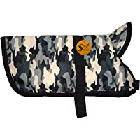 Sage Square Premium Dog Winter Ultra Warm Camouflage Army Coat Thicker Fleece Dog Hoodie Vest for Cold Weather (1 Piece…