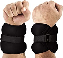 FITSY® Adjustable Ankle Weights (0.5 KG X 2)