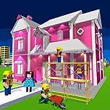 progettazione e decorazione della casa delle bambole: giochi da casa per ragazze