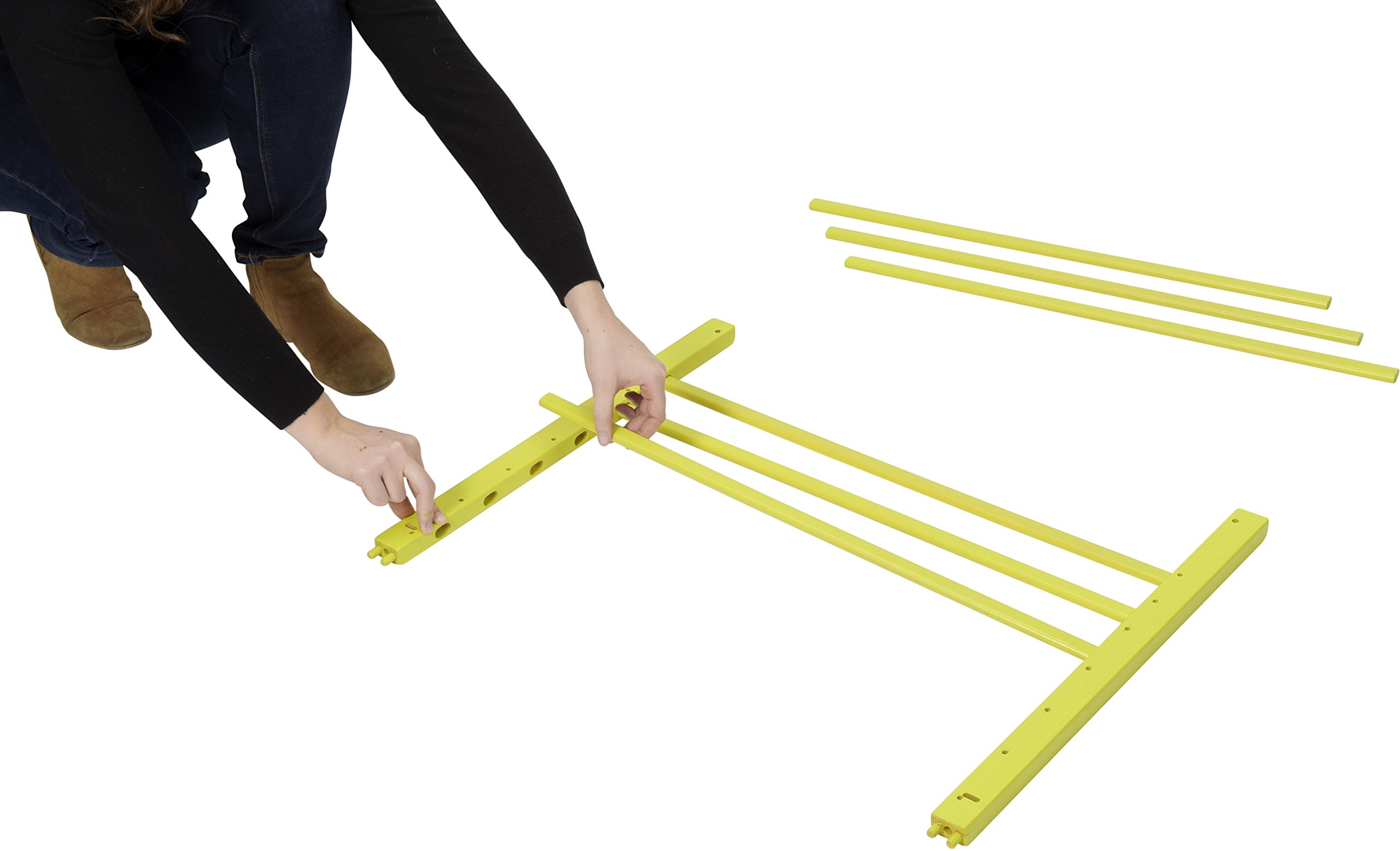 Badabulle Color Pop Safety Gate, Yellow Badabulle Mountable in just 7 minutes Easy to open Swinging door 3