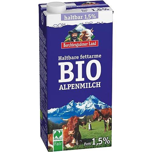 Berchtesgadener Land Latte Parzialmente Scremato Uht - 1 ml