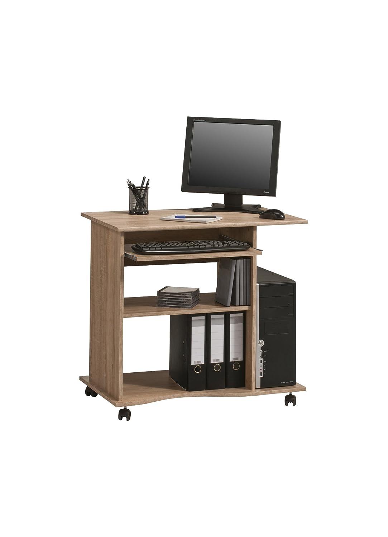 MAJA Möbel 4024 5540 Computertisch, Merano Nachbildung, Abmessungen BxHxT:  80 X 75 X 50 Cm: Amazon.de: Küche U0026 Haushalt