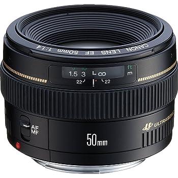 Canon EF 50mm 1:1.4 USM (58 mm Filtergewinde) Objektiv