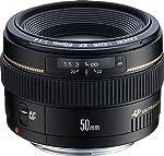 Canon Lens Ef50Mm F1.4 Usm Fotoğraf Makinesi, Full HD (1080p), Siyah, 2 Yıl Canon Eurasia Garantili