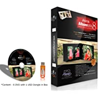Anurag Album Max 8 (Album Designing Software) Single User with Dongle
