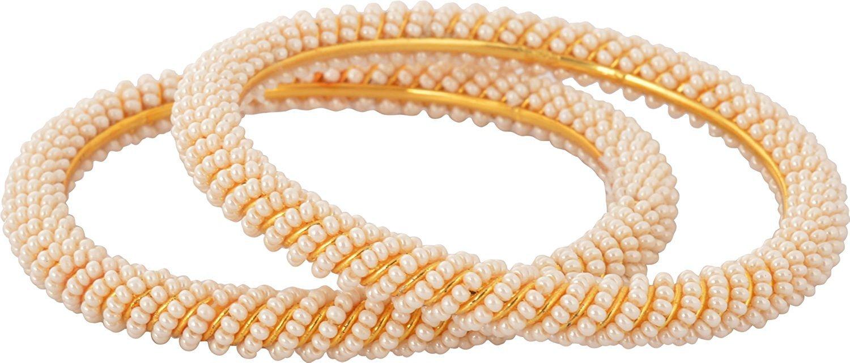 36de91fac64 Sitashi Fashion Imitation Jewelry Gold Plated White Pearl Bangles ...