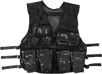 Kombat UK Kid's Assault Vest, BTP Black, One Size