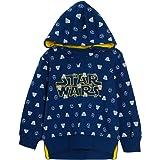 Sudadera con capucha para niños de Star Wars Darth Vader Storm Trooper con capucha y forro polar