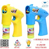 Lucid Special Bubble Guns with Light & Music Sound (Multi Color) (Version 3.0)