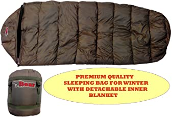 All New Sleeping Bag for Travelling N Hiking,with Detachable Inner Blanket for Winter.