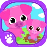 Cute & Tiny Farm Animals - Baby Pet Village