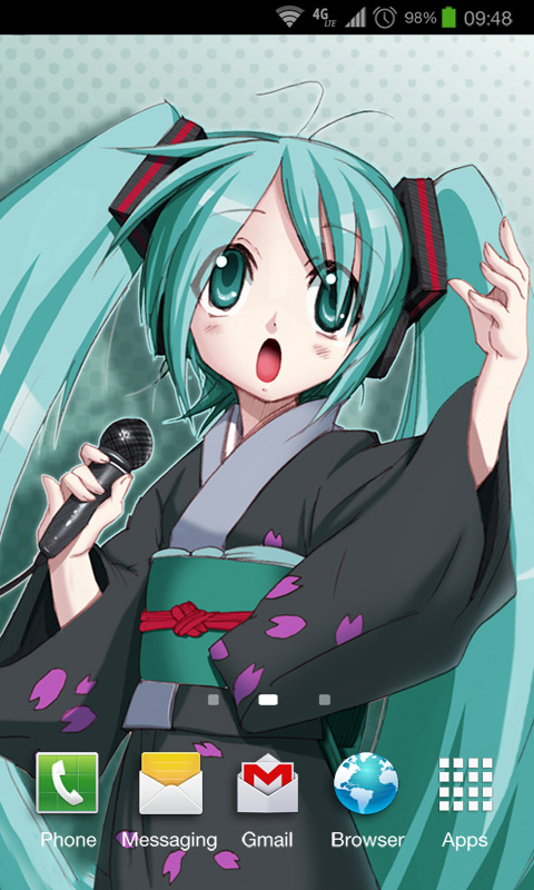 Hatsune Miku Wallpapers: Amazon.co.uk: Appstore for Android