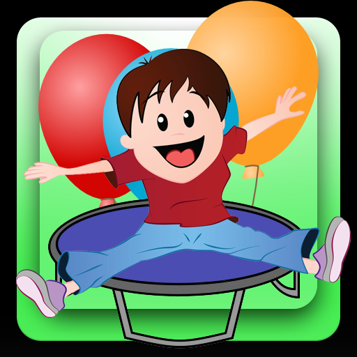 Trampoline Balloon Jump