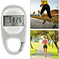 Vuffuw Simple Walking Pedometer, D Induction Accurate Step Counter with Hook for Men Women Kids to Sport Activities