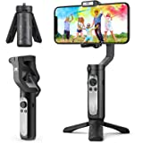 3-Axis Gimbal Stabilizer for Smartphone - Hohem Lightweight Foldable Phone Gimbal w/ Auto Inception Dolly-Zoom Time-Lapse, Ha