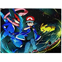 Pokemon Jigsaw Puzzles 500 Piece,Jigsaw Puzzles Set for Adult,Jigsaw Puzzles Toys Game