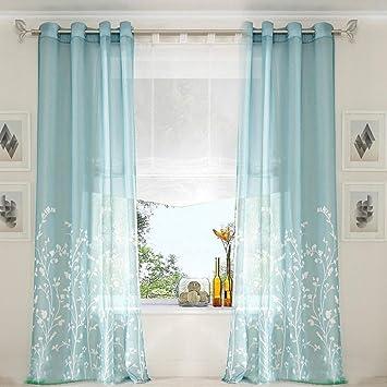 vorhang mintgr n. Black Bedroom Furniture Sets. Home Design Ideas