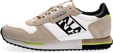 NAPAPIJRI Sneaker Uomo Beige Bianco NP0A4ERZHA11