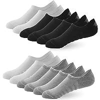 BUDERMMY 6 o 10 Paia di Calzini Fantasmini da Uomo, Sneaker Calze Donna Invisibili Antiscivolo in Cotone, Low Cut da…