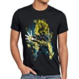 CottonCloud Power of Goku Camiseta para Hombre T-Shirt God Z Vegeta Roshi Ball