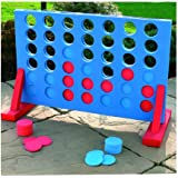 Crystalbella Home Series 4in a Row Giant Connect Garten Outdoor Spiel Kinder Erwachsene Family Party Fun gift24