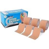 SUPERBE Bande Kinesiologie K Taping Pack de 3 Tape Sport 5cm x 5m