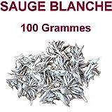 100 gr Sauge Blanche sèche de californie en vrac