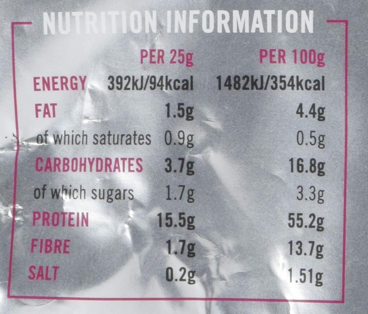 Healthista Lean Vegan Diet Protein Powder – Berry Burst, 500g, HSA6