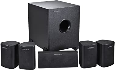 Monoprice 108247 5.1-Channel Home Theater Speaker System, Six