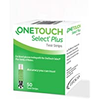 OneTouch Select Plus Strips, 50 Count