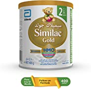 SIMILAC GOLD 2 HMO  FOLLOW-ON FORMULA MILK FOR 6-12 MONTHS - 400G