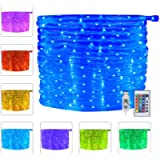 Ollny Fairy Rope String Lights 10m 100 LED USB Powered, Led RGB Strip Lighting with Remote Control & Timer 16 Multi…
