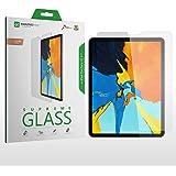 واقي شاشة زجاجي مقوى إضافي لهاتف Apple iPad PRO 11 بوصة 2018 Face ID - زجاج فائق الجودة