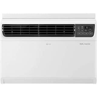 LG 1.5 Ton 3 Star Inverter Window AC  Copper, JW Q18WUXA1, White, Top Air Discharge