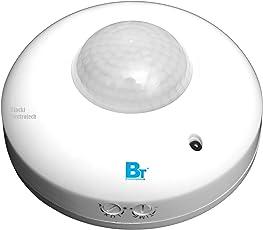 Blackt Electrotech 360 Degree PIR Motion Sensor With Light Sensor (Ceiling Mounted)