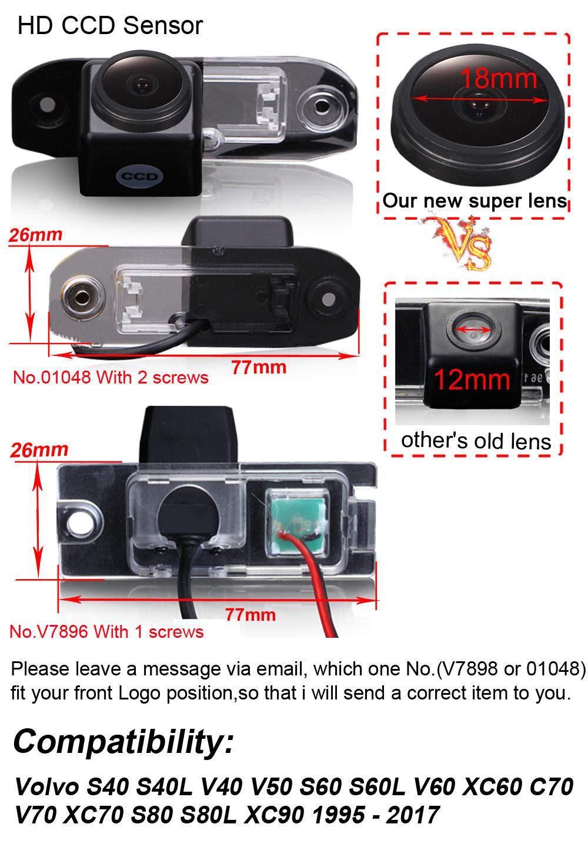 Dynavsal-Super-HD-Rckfahrkamera-Set-fr-Volvo-S40-S40L-V40-V50-S60-S60L-V60-XC60-C70-V70-XC70-S80-S80L-XC90