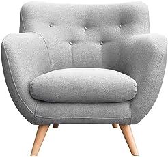MyHomery Sessel Adele Gepolstert   Polsterstuhl Für Esszimmer U0026 Wohnzimmer    Lounge Sessel Mit Armlehnen
