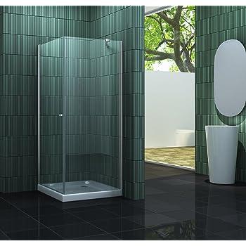 Duschkabine SILL 90 x 90 x 180 cm ohne Duschtasse: Amazon.de: Baumarkt
