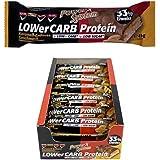 Power System LOWer Carb Protein Riegel (Karamell-Erdnuss, 18er Pack)