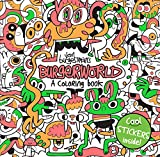 Jon Burgerman's Burgerworld: A Coloring Book