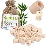 Green Koalas 50 Perles de CERAMIQUE EM Roses Naturelles pour Purifier filtrer l'Eau. Billes de céramique en Argile (Tube) pou