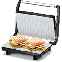 KENT 16025 Sandwich Grill 700W   Non-Toxic Ceramic Coating   Automatic Temperature Cut-off with LED Indicator…