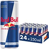 Red Bull - Original - 250 ml x 24 bottles - Energy Drink Can - Vitalized body and mind - Caffeine Content - Contains vitamins