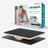 Plankpad STUDIO – interaktiver Ganzkörper-Trainer & Balance Board – Home Fitnesstrainer Made in Germany inkl. Smartphone-App