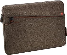 PEDEA Tablet PC Tasche Fashion für 10,1 Zoll (25,6cm) Tablet Schutzhülle Tasche Etui Case mit Zubehörfach, braun