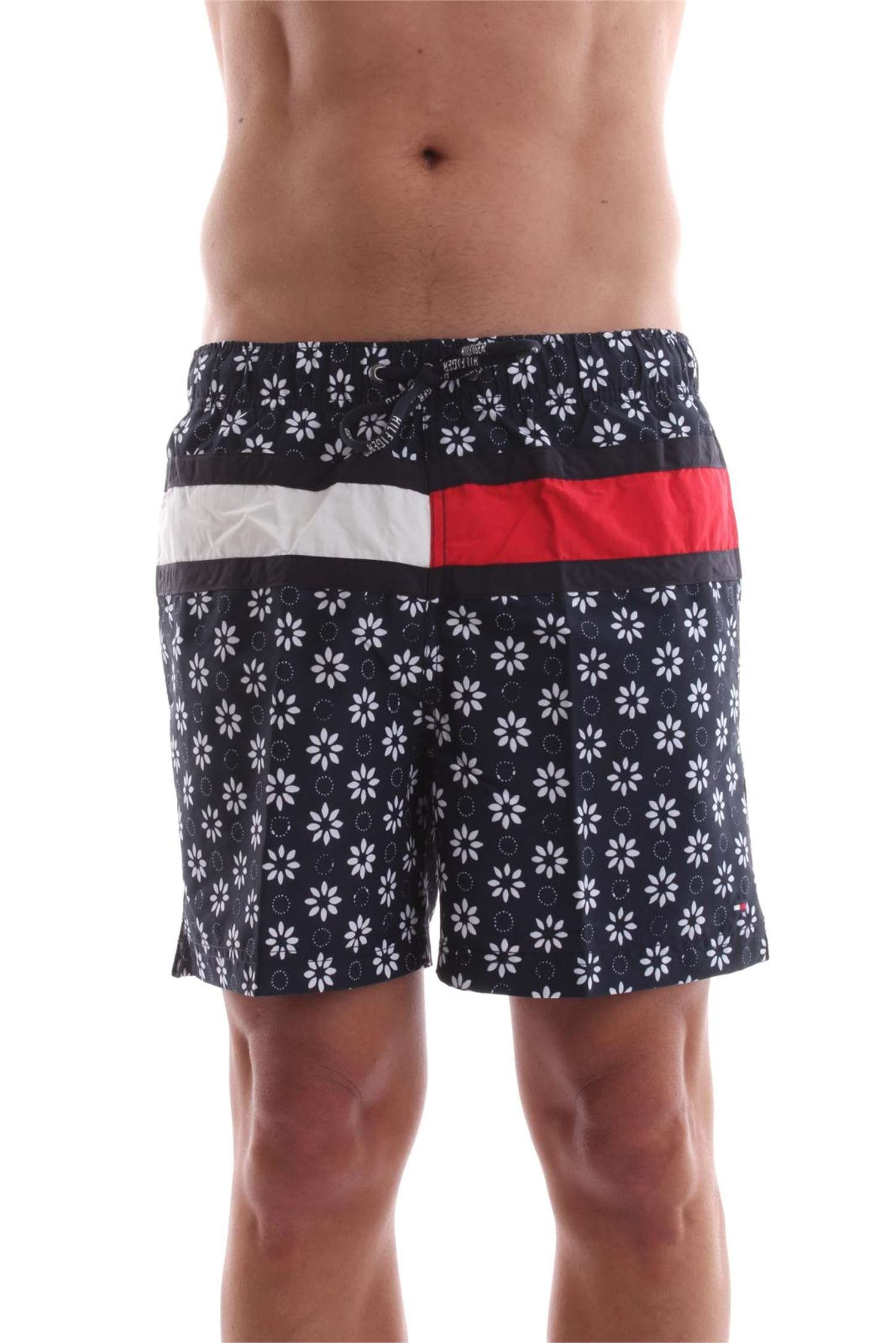 Tommy Hilfiger Flower PRT Flag Trunk Bañador para Hombre